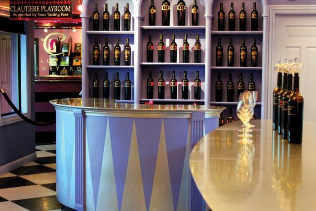 Clautiere Vineyard tasting Room