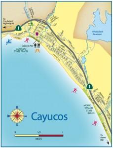 Cayucos Map