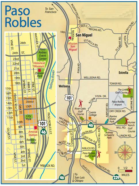 Paso Robles Visitors Guide