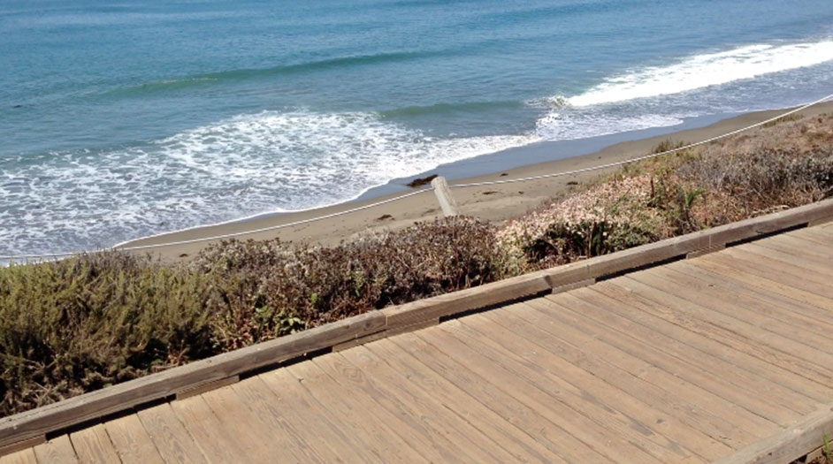 Walk Down The Moonstone Beach Boardwalk And Explore Tidepools San Luis Obispo County Visitors Guide