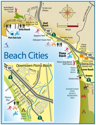 Pismo Beach Travel Guide San Luis Obispo County Visitors Guide