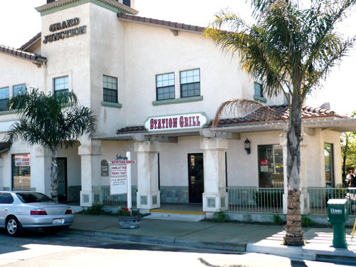 "The Station Grill restaurant in Grover Beach, housed in the ""Grand Junction"" building just steps from the railroad tracks and catty-corner from the train station, serves up home-cooked meals seven days a week."