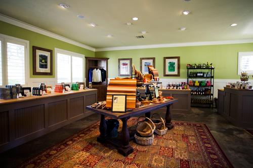 Stop inside the Pasolivo tasting room and enjoy award-winning olive oils.