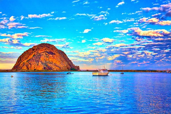 Views of Morro Rock