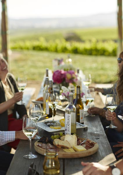 The Niven family's three core brands offer visitors a diversity of wine styles.