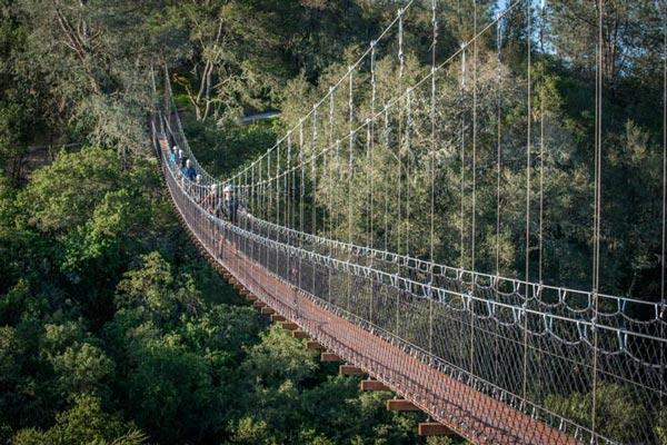 Suspension Bridge Santa Margarita.