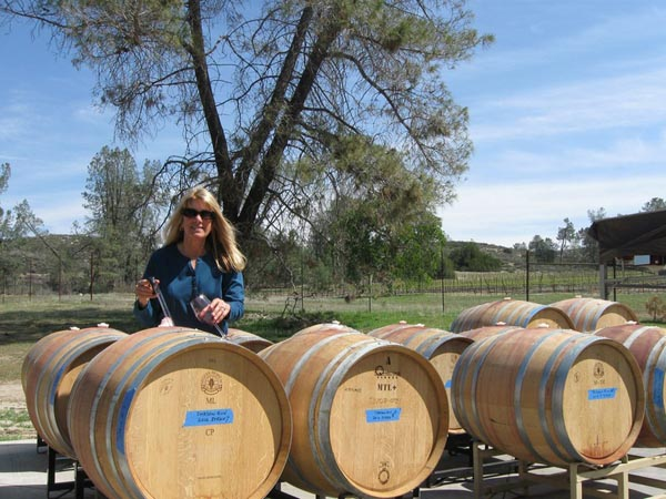 Shadow Run winemaker Susan Evans.