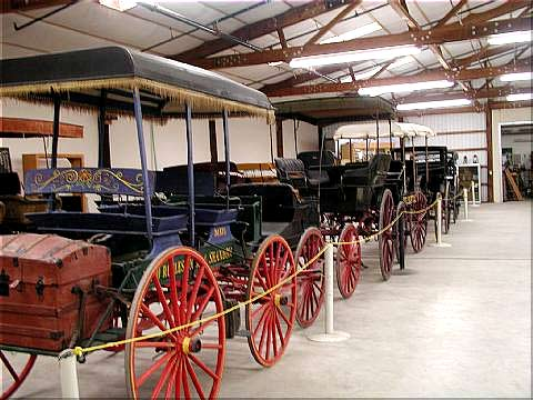 old cars at pioneer museum in paso robles, ca
