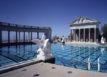 hearst castle pool refilled