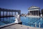 hearst castle pool refilled