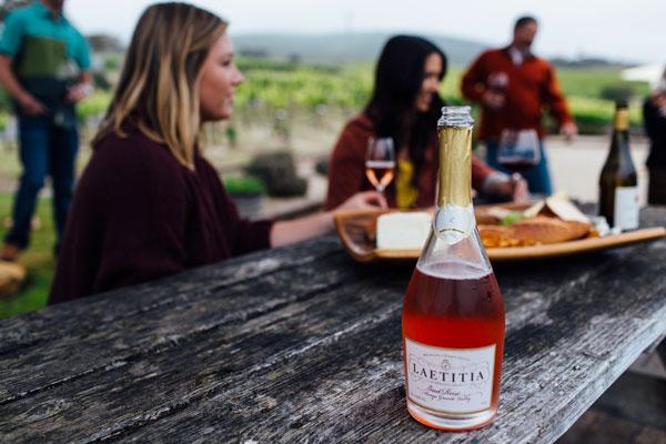SLO Wine tasting Laetitia