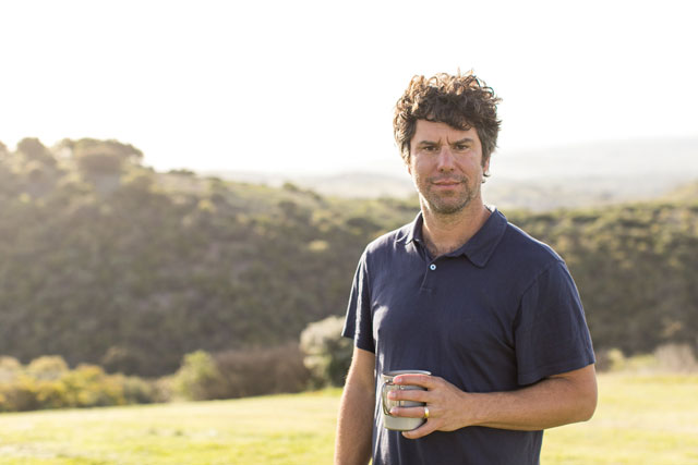 Winemaker Jason Joyce of Calcareous