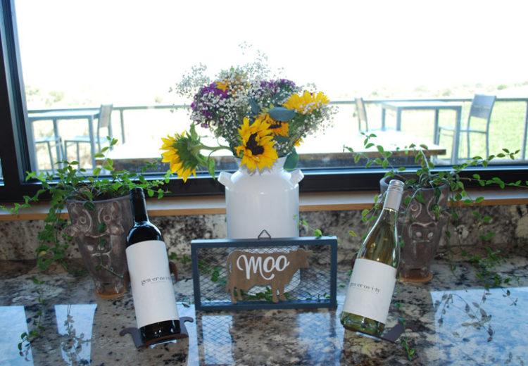 Bovino Wine tasting room