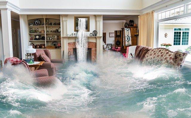 water damage Los Osos
