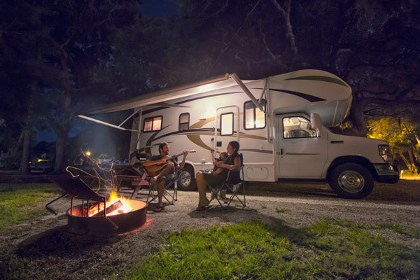 Camping in SLO