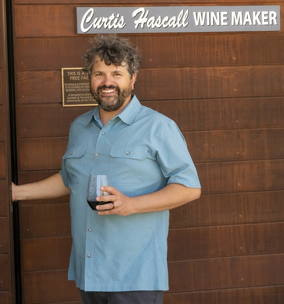 Curtis Hascall Winemaker Shale Oaks Winery